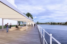 Proposal Made for Ferry Crossing at Harrods Wharf