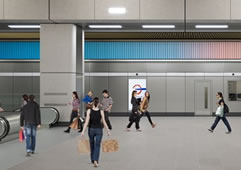 Original Local Art For Northern Line Extension Stations