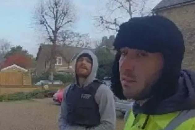 Two of the men sought in connection with aggravated burglary in West Hill